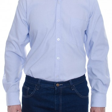 Camisa clasica manga larga